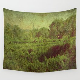 vintage romantic old landscape photography Wall Tapestry