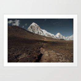 Kalapathar Art Print