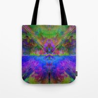 avatar Tote Bags featuring Avatar by Assiyam