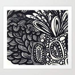 Bouquet of Flowers Series 3 Art Print