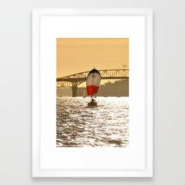 Sailboat 1 Framed Art Print