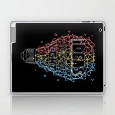 Ideas need light (black version) Laptop & iPad Skin