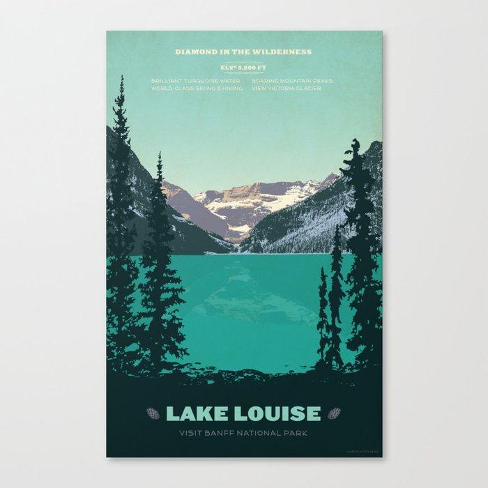 Lake Louise Leinwanddruck