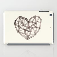 wooden iPad Cases featuring Wooden Heart by Picomodi