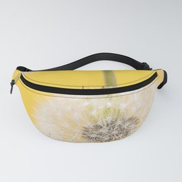 Whishes on yellow Fanny Pack