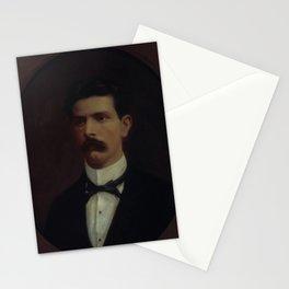 François-Auguste Biard - Retrato do Dr Fausto Pompeu do Amaral Stationery Cards