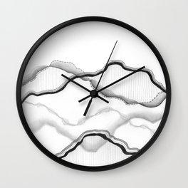 Mountainscape 4 Wall Clock