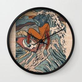 Media Surf Wall Clock