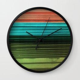 I Want Stripes Wall Clock