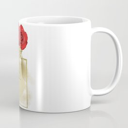 Red Roses & Fashion Perfume Bottle Coffee Mug