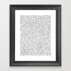 Dots.. Framed Art Print