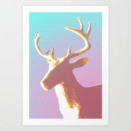 Dots on Deer Art Print