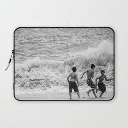 Boys at Sea Laptop Sleeve
