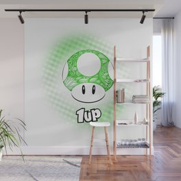 1-UP from Mario Wall Mural