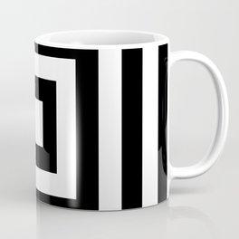 Classic Black White Squares Coffee Mug