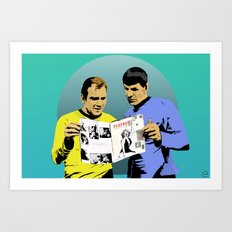 Real Men Art Print