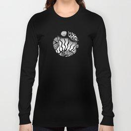 Circles & Life Original Abstract Illustration Long Sleeve T-shirt