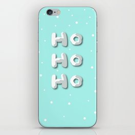 HO HO HO iPhone Skin