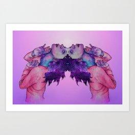thalictrum  Art Print