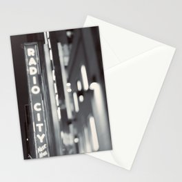 Bright Light In The City Stationery Cards