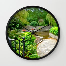 Irish Garden Wall Clock