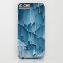 Abstract Glitch Pixel Art 707 iPhone Case