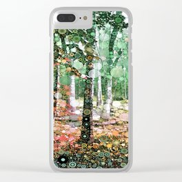 :: Walk in the Woods :: Clear iPhone Case