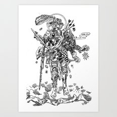Knight (Ascension) Art Print