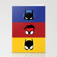 heroes Stationery Cards featuring Heroes by gallant designs