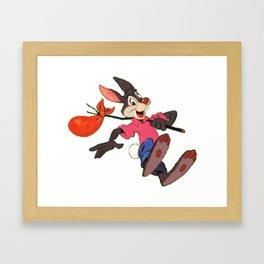 Disney's Splash Mountain: Brer Rabbit Framed Art Print