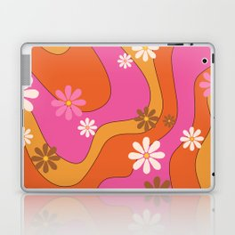 Groovy 60's and 70's Flower Power Pattern Laptop & iPad Skin