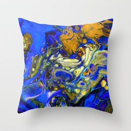 Blue Compliments You Throw Pillow