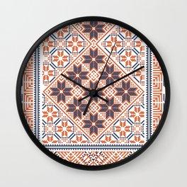 Palestinian pattern Wall Clock