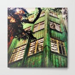 Day Seven: Healing Green Metal Print