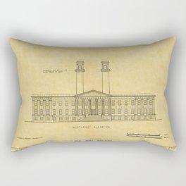 San Francisco Mint Building Rectangular Pillow