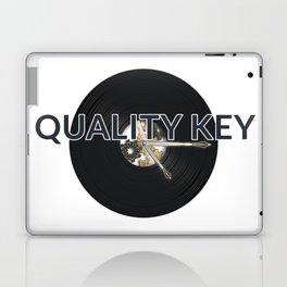 Quality Key: Vinyl Time Laptop & iPad Skin