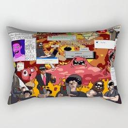 The Big Gib: SpaceCom Chapter 1 Rectangular Pillow