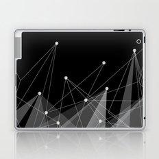 Black fractals Laptop & iPad Skin