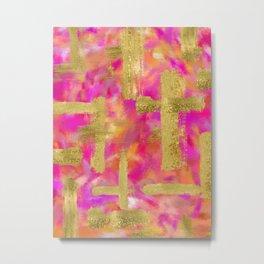 Delia Abstract Metal Print