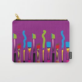 Colorful Artist Tools Contemporary Arts Carry-All Pouch