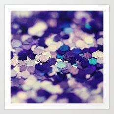 Grape Mix - an abstract photograph Art Print