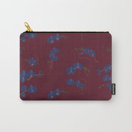 Burgundy Botanicals Carry-All Pouch