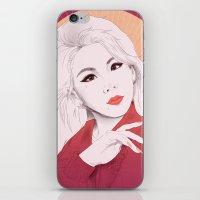 2ne1 iPhone & iPod Skins featuring HELLO BTCHZ by Das The Creator