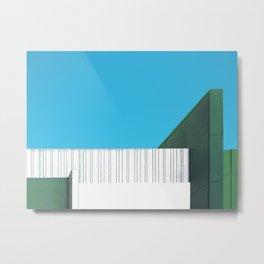 Skymetric Metal Print