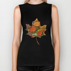 Autumn in the Forest Biker Tank