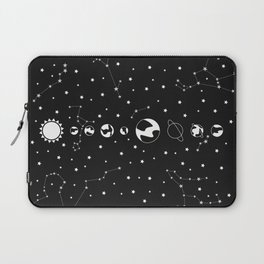 What's wrong? - Solar System Illustration Laptop Sleeve