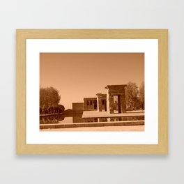 Temple of Debod Framed Art Print