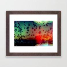 ocean of colors Framed Art Print
