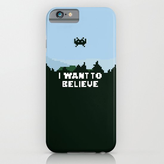 i want to believe. iPhone & iPod Case