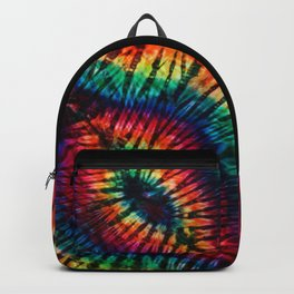 Tye Dye Rainbow Singularity Backpack